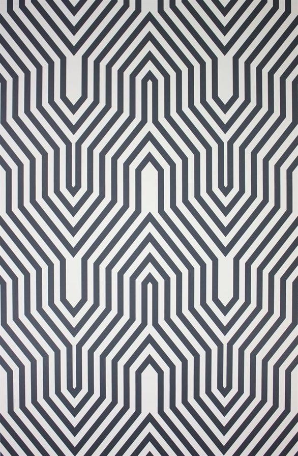 Osborne U0026 Little, O Wallpaper Album 5, Minaret Wallpaper In B. Geometrische  MusterStrukturTapeteBadtapetenModerne ...