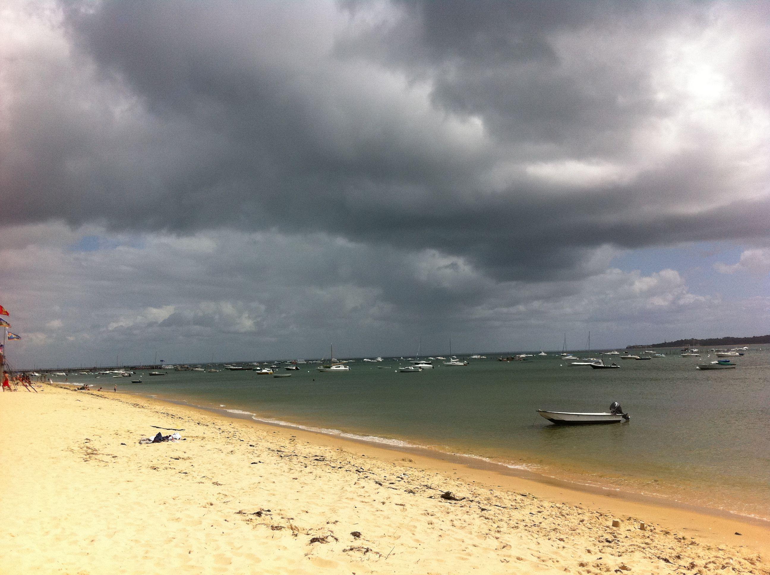 Le calme avant la tempête, Bassin d'Arcachon