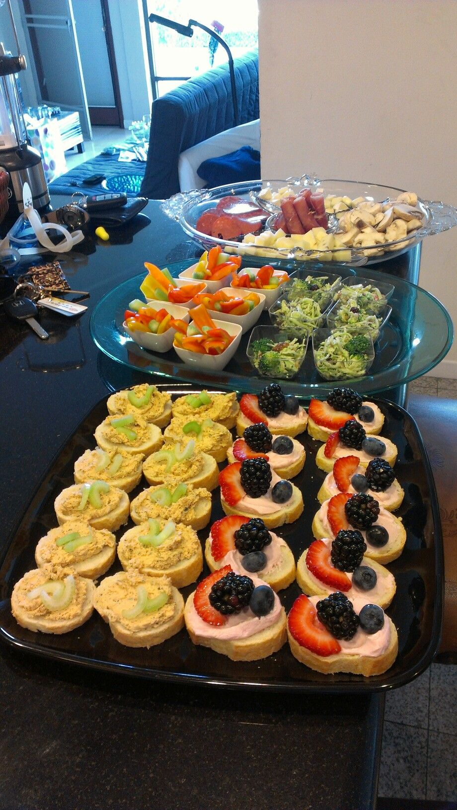 Finger foods for the bridal party Party food menu