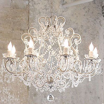lampadari chandeliers lighting pinterest kronleuchter shabby chic und m bel. Black Bedroom Furniture Sets. Home Design Ideas