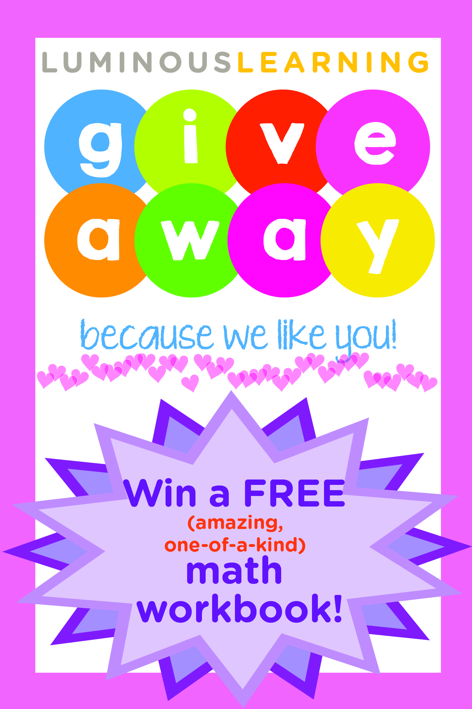 February Giveaway | Math workbook, Maths and Students