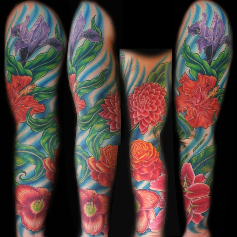 Large Color Tattoos By Portland Tattoo Artist Joshua Hibbard As
