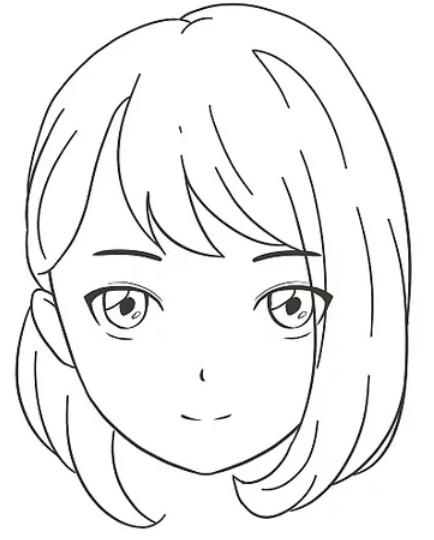 Como Desenhar Um Anime Passo A Passo Facil Facil Desenhar Bonito Em 2020 Desenho De Rosto Simples Desenho De Rosto Olhos Desenho
