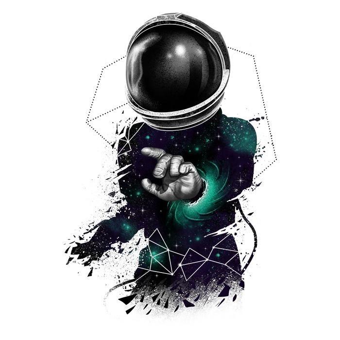 Space Dimensions Galaxy S6 Edge Edge Plus Artistic Wallpaper Astronaut Art Space Art Cool astronaut wallpapers hd