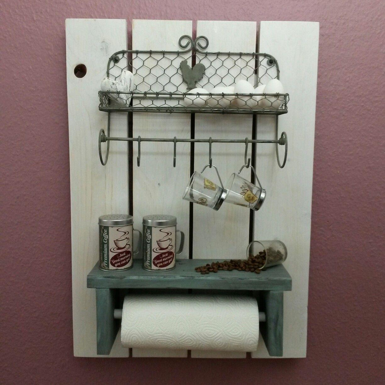 Einrichtungsidee Dieses Küchenregal ist ein tolles Deko-Element für ...