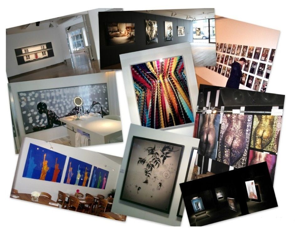 When you collect your finished panels from us, we are more than happy to feature any up-coming exhibitions you may have on our web-site, facebook & twitter pages. Installation images too are especially welcome, during the run or after the event. The more information & images you have the better! We'll make sure that we hyperlink everything through to your own website too.