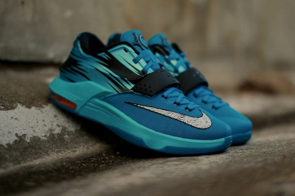 Nike Kd 7 Light Blue Lacquer Luvn Shoes For Days