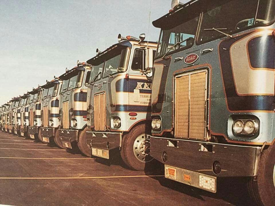 Keen Transport Peterbilt 352's