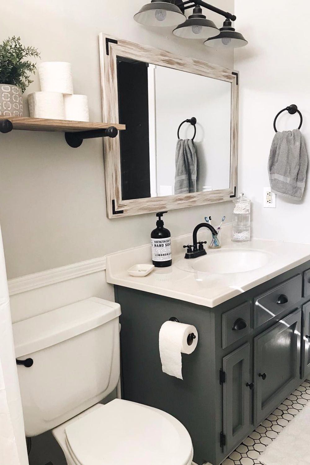 Guest Bathroom Ideas That Are Easy To Do - SwankyDen.com 2020