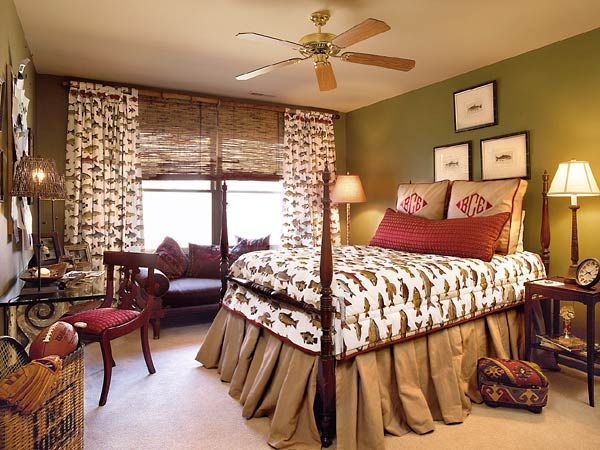 Best 25 fishing themed bedroom ideas on pinterest for Hunting cabin bedroom