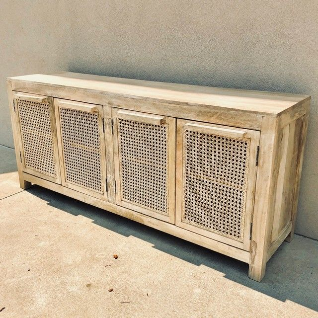 BUFFET WITH four CANE DOORS - Nadeau Columbia | Dining ...