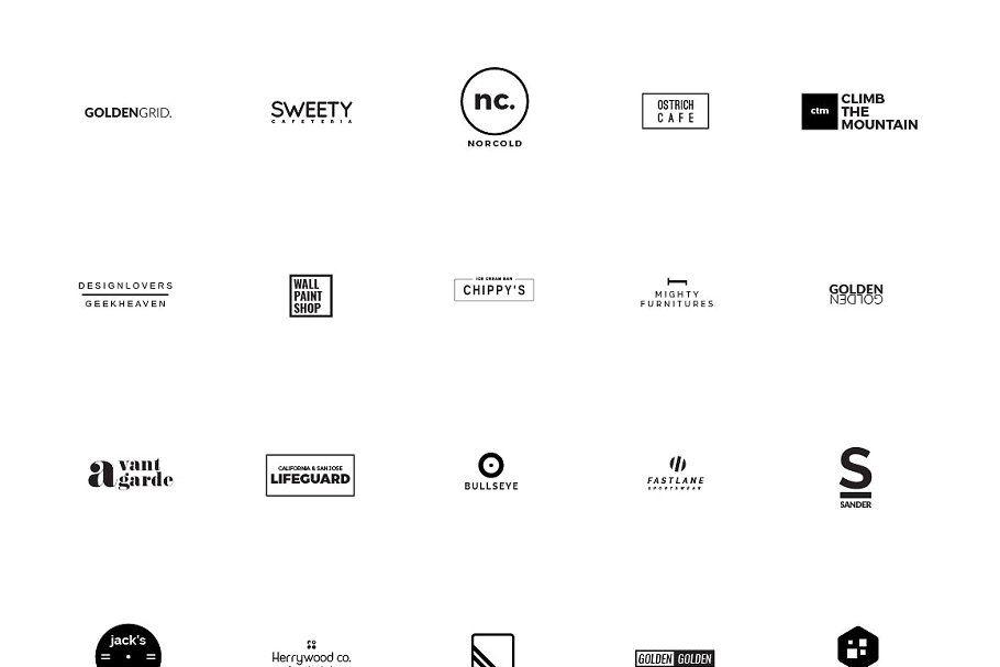 Sale Logo Creators Dream Bundle Create My Logo Business Card Mock Up Logo Templates