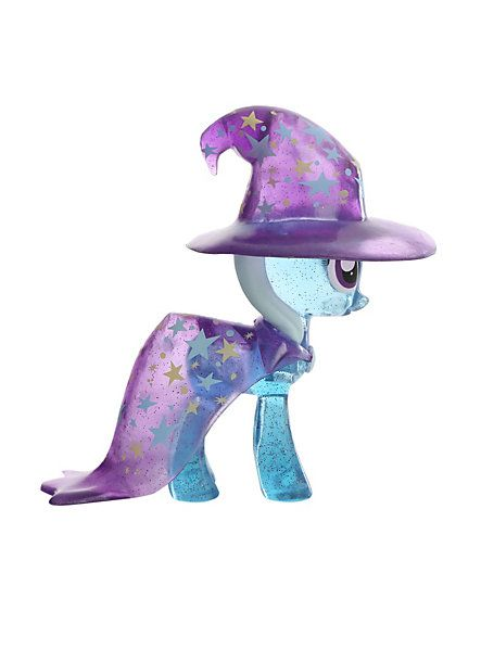 My Little Pony Trixie Lulamoon Vinyl Figure Pre-Order Hot Topic Exclusive, 1/24 randomly gets the rare clear sparkly variant! $16.50
