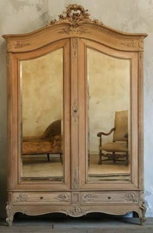 Pin By Reichenbacher Katrin On Armoires I Love French Armoire French Home Decor Antique Armoire