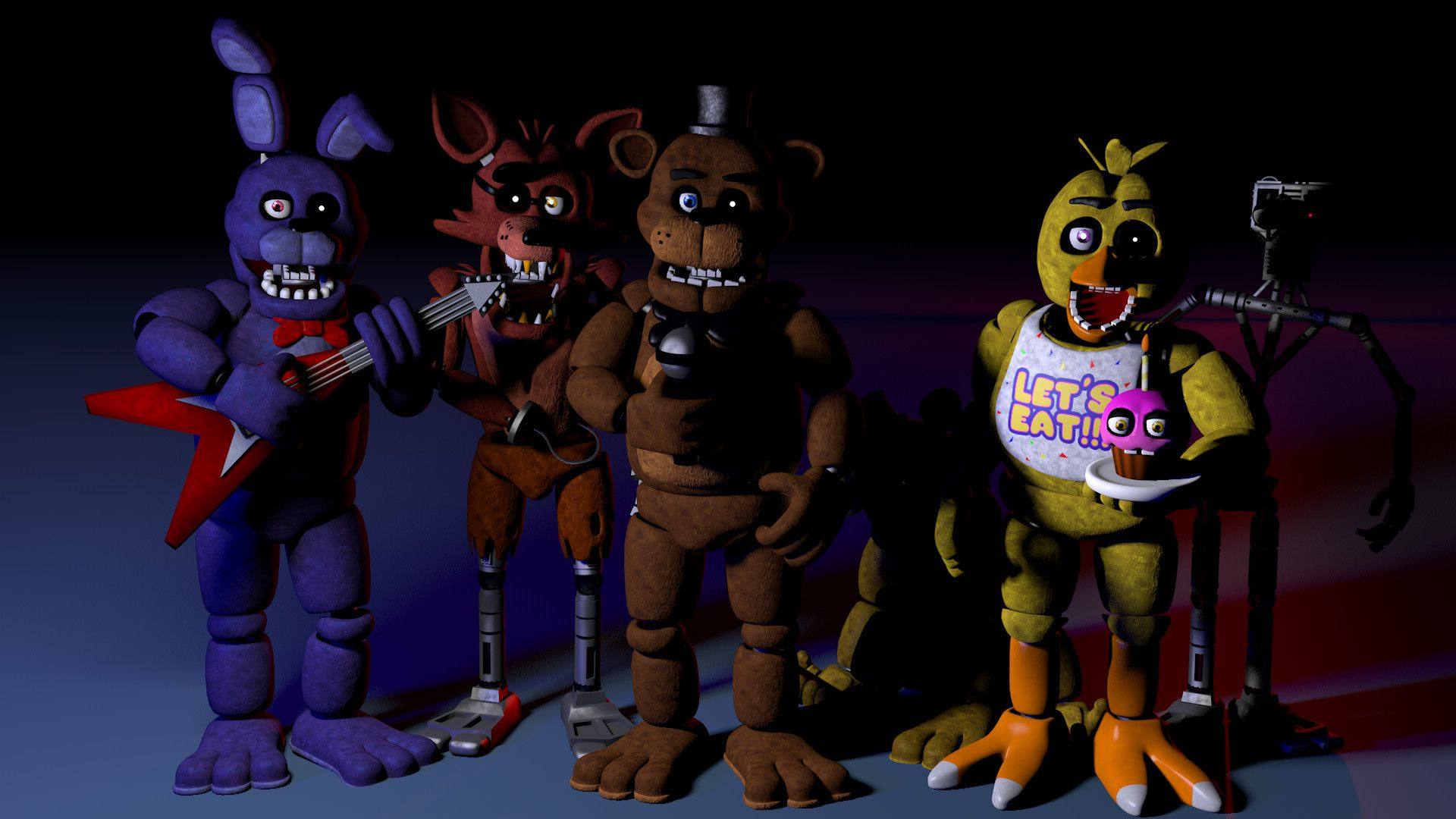 1920x1080 FNaF 1 Wallpaper by MrNobody1987 FNaF 1