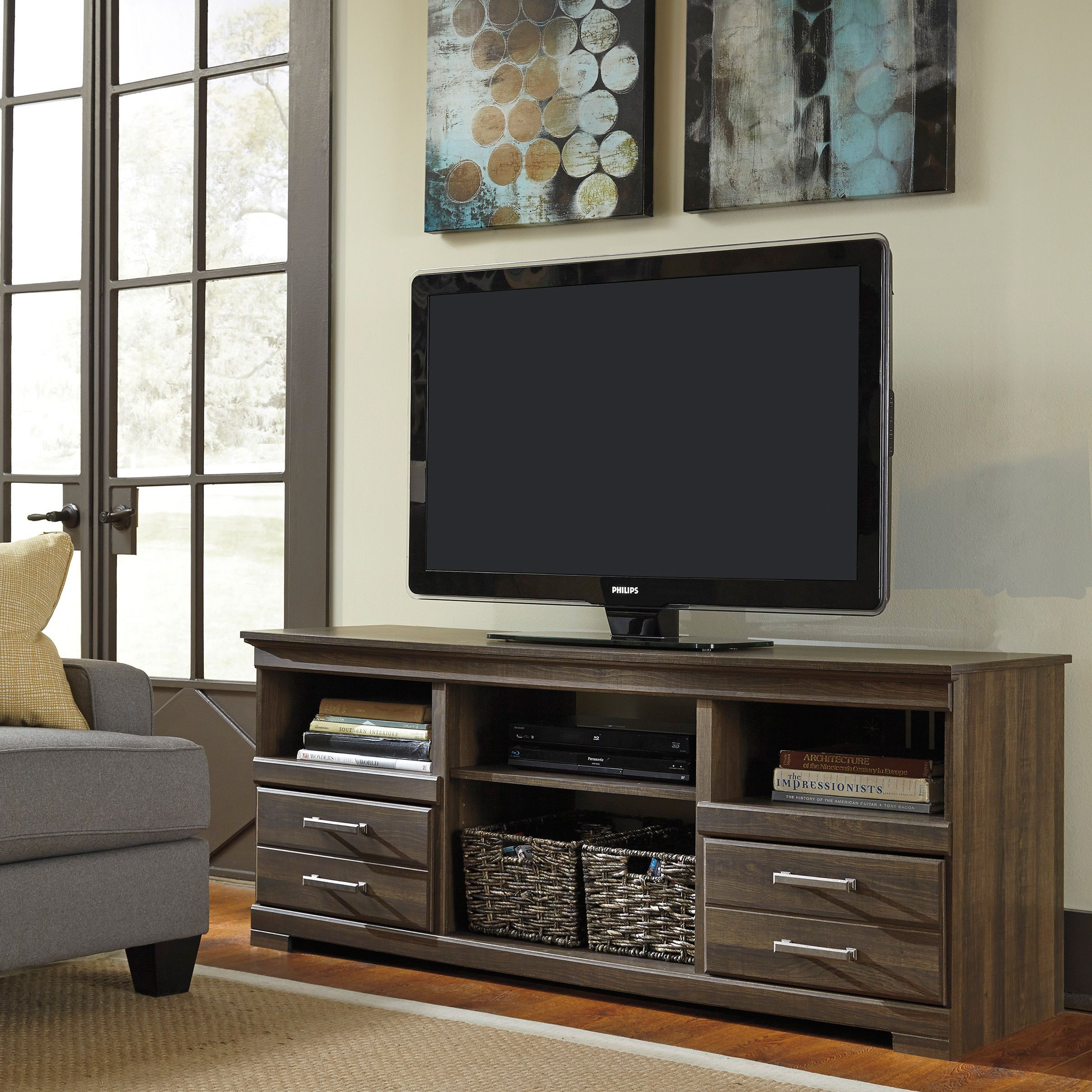 Lovely Exhibit A Sense Of Modern Style In Your Living Space With This Lavish TV  Stand.