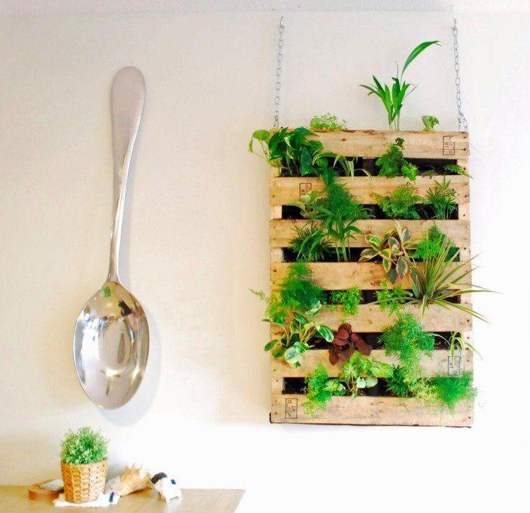 Mur Vegetal Interieur En 80 Idees Pour La Maison Ecologique Moderne