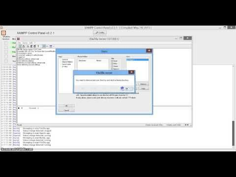 Quick Video On How To Use Ftp Filezilla On Xampp Through Local Computer Or Network Making Web Beautiful Server Users Networking