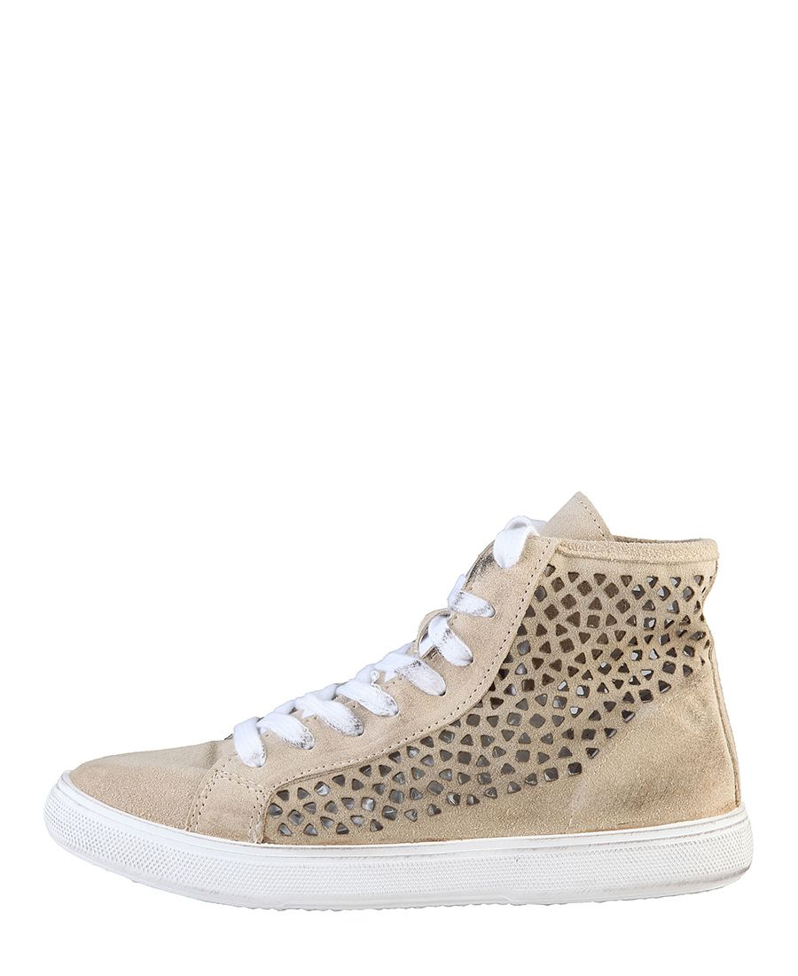 Alte Sneakers Stringate Donna Scarpe Woz In 100 Made Italy nT8OwxqY4