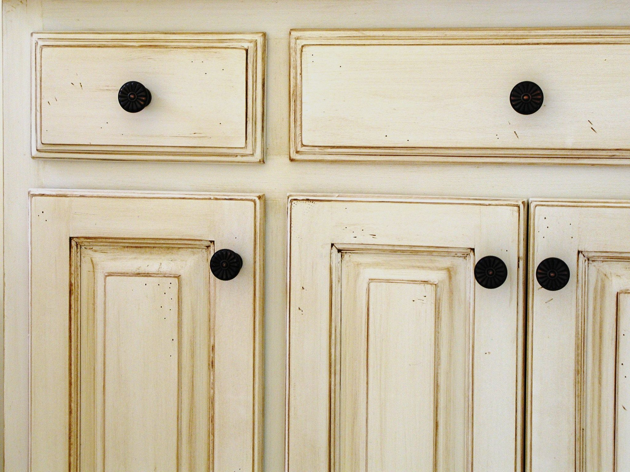 Faux Wood Finish Cabinets Cabinet Wood Antique White Cabinets Antique White Kitchen Antique White Kitchen Cabinets