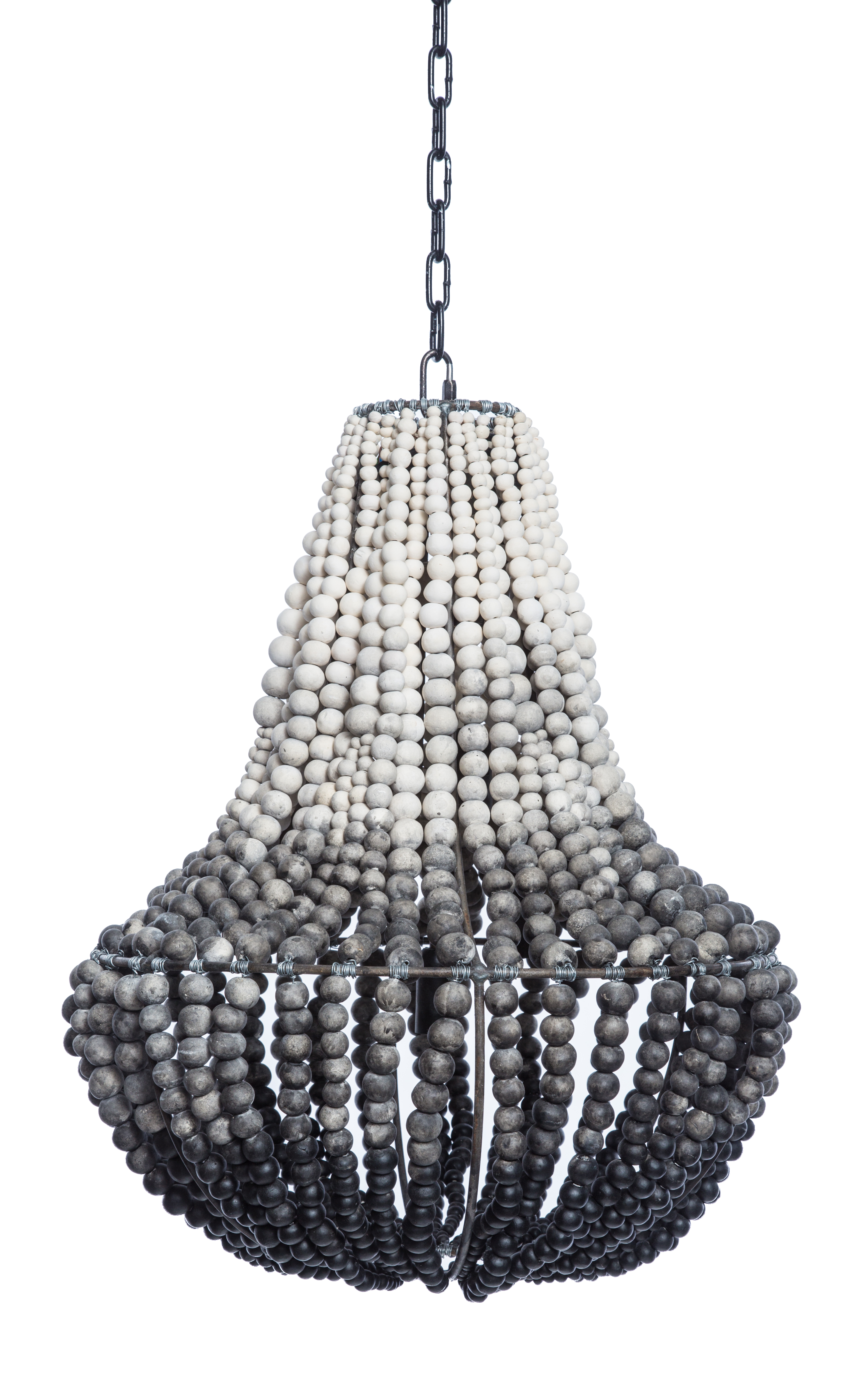 This Hand Made Clay Chandelier From South Africa Simply Makes The