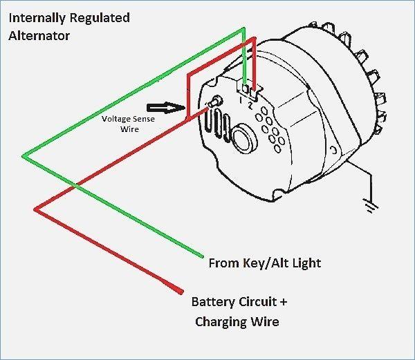 1 Wire Alternator Diagram in 2020 | Diagram, Wire