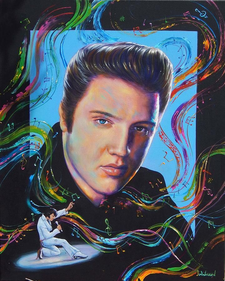 Photo of Elvis : The Music is Alive – SM-19×24