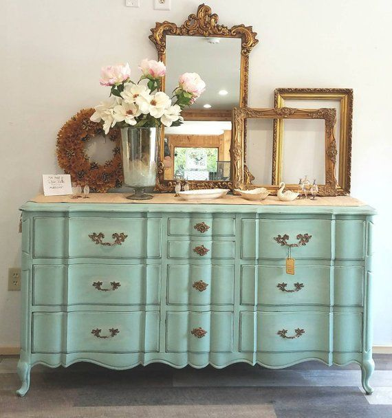 Affordable Retro Furniture: SOLD ** NLA! ** SOLD Painted Furniture, French Provincial