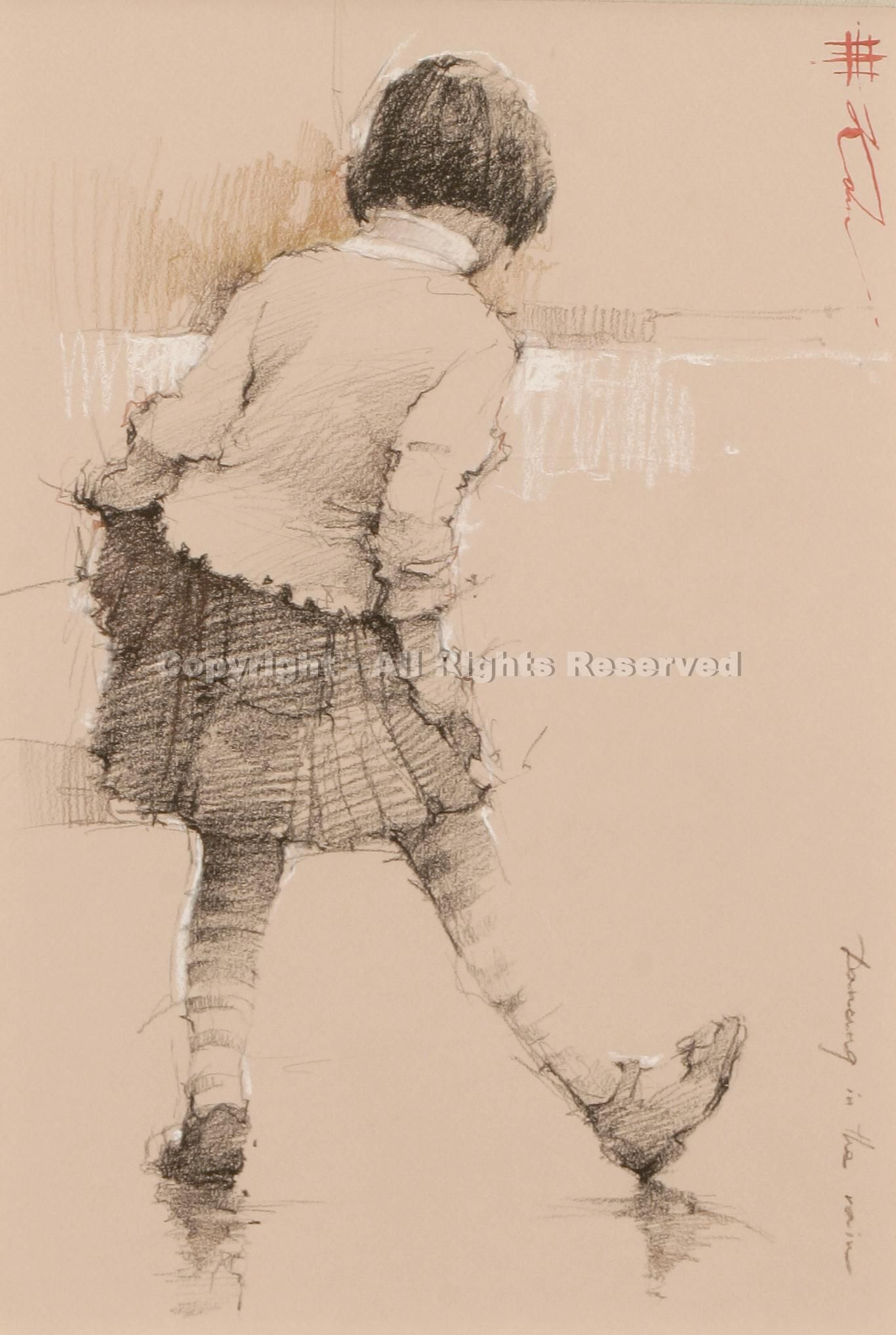 Dancing in the Rain by Andre Kohn - Greenhouse Fine Art - San Antonio, TX