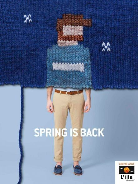 Spring Break is Back Campaign designed by DDB, Spain #advertising by adrienne