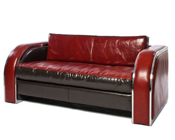 Superb Deco Leather Sofa Style Of Donald Deskey, Sale In 4835 W Jefferson Blvd,  Los Angeles, CA USA ~ Apartment Therapy Classifieds