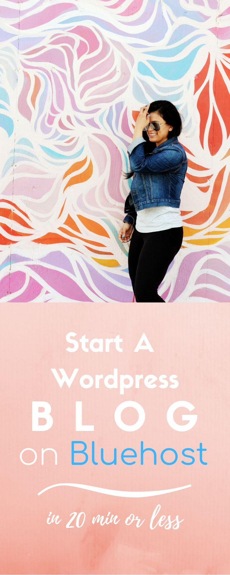 How to start a WordPress blog on Bluehost in 20 minutes or