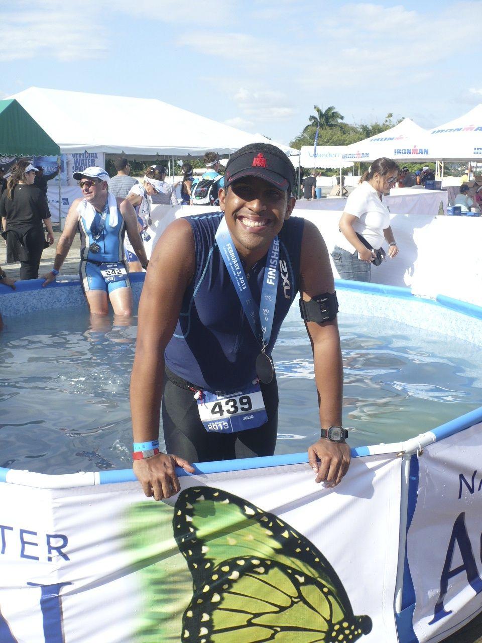 Mi medalla del Ironman 70.3 de Panama