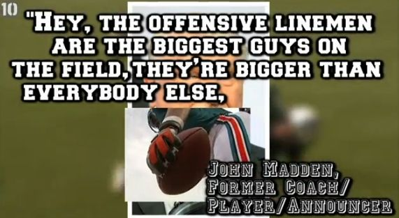 10 Ridiculous NFL Quotes vs. Former Football Players Nfl