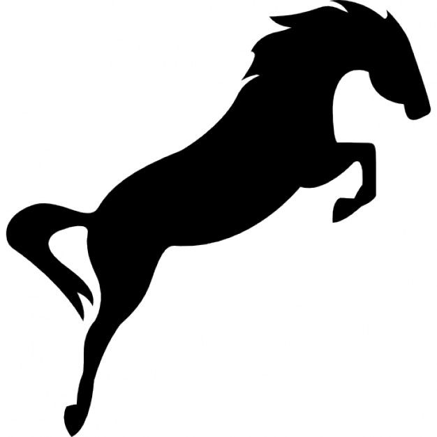 Download Horse Black Silhouette In Elegant Jump For Free Elephant Stencil Horse Silhouette Horse Stencil