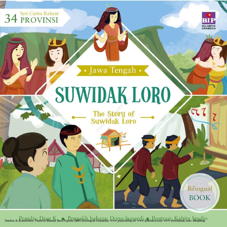 Ebook Seri Cerita Rakyat 34 Provinsi Jawa Tengah Suwidak Loro Di 2020 Buku Buku Anak Cerita Rakyat