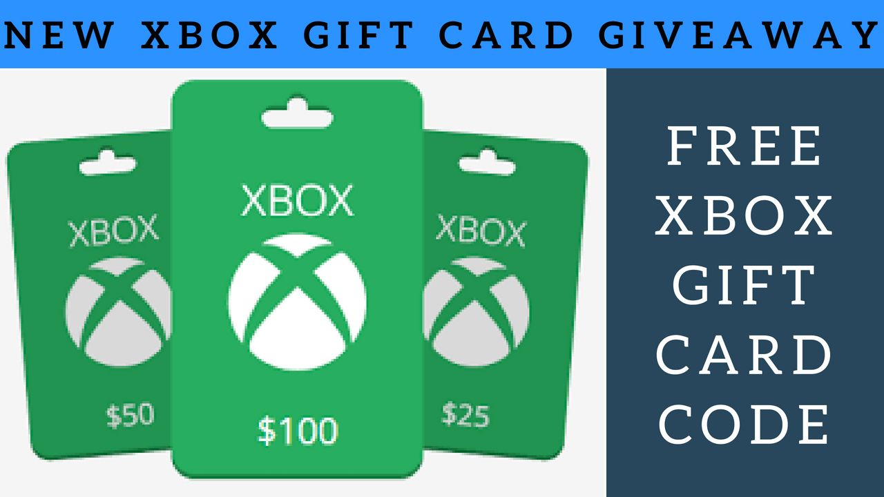Xbox Gift Card Codes Giveaway Free Xbox Gift Card Codes Free