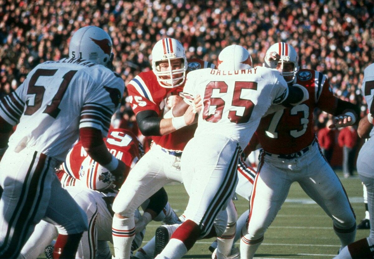 John Hannah 73 1st Ever Patriots Hall Of Famer Patriots Football Afl Nfl