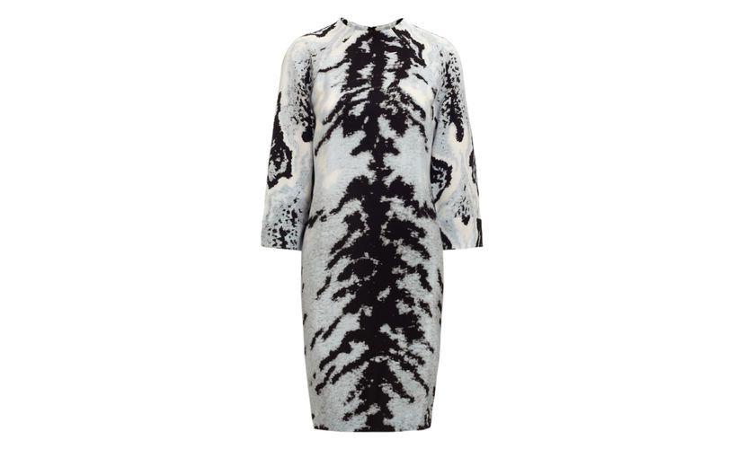 Lucie ocelot print tunic