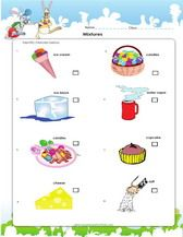 Mixtures Science Worksheet For 3rd Grade With Images Science