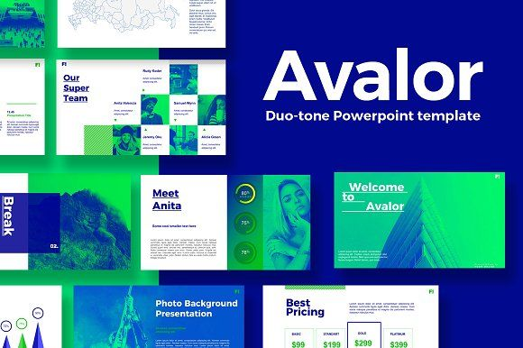 avalor 1.0 powerpoint templatefattah & partners on, Powerpoint templates