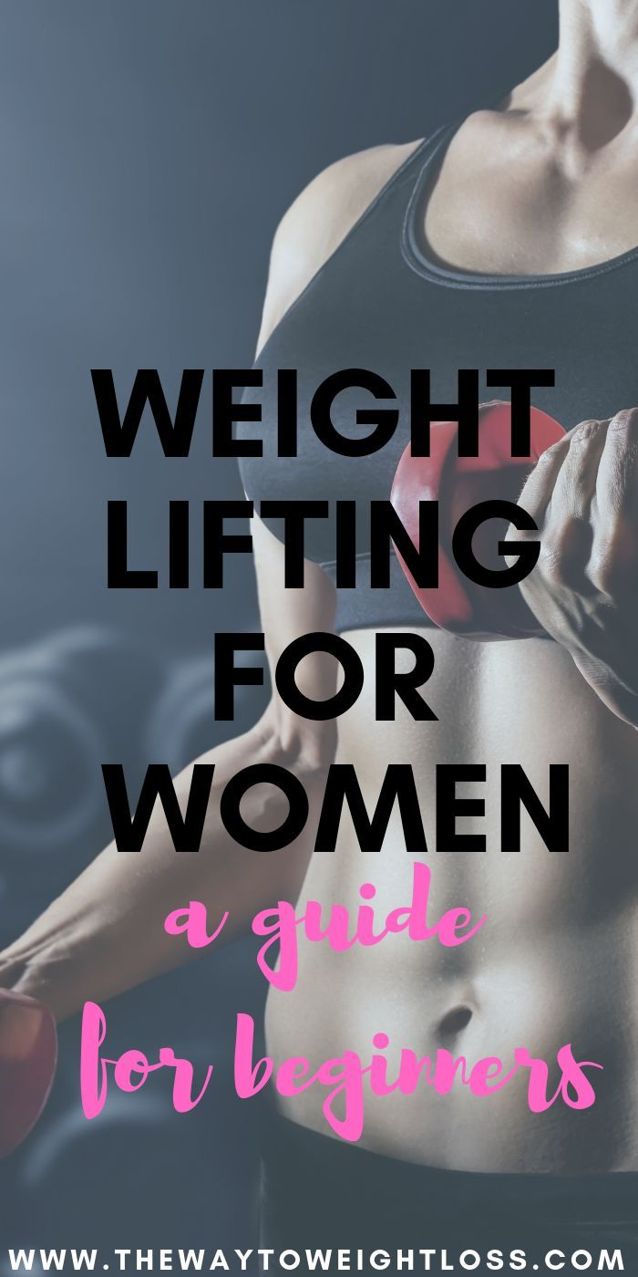 Weight Lifting For Female Beginners -