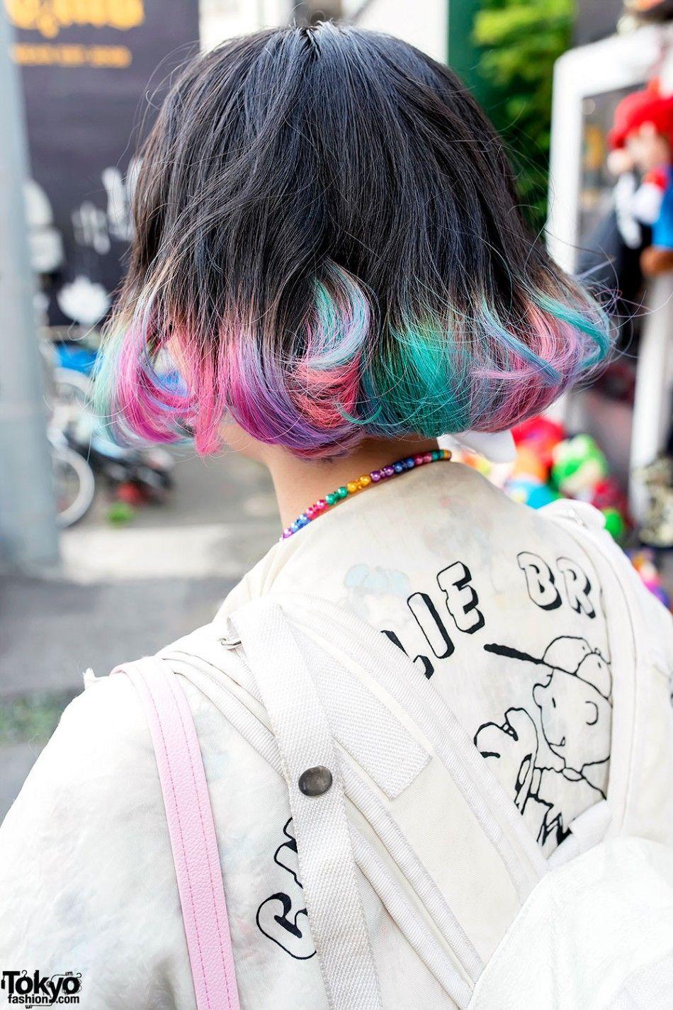 Elleanor in Harajuku w/ Colorful Hair, Himitsu Kessya