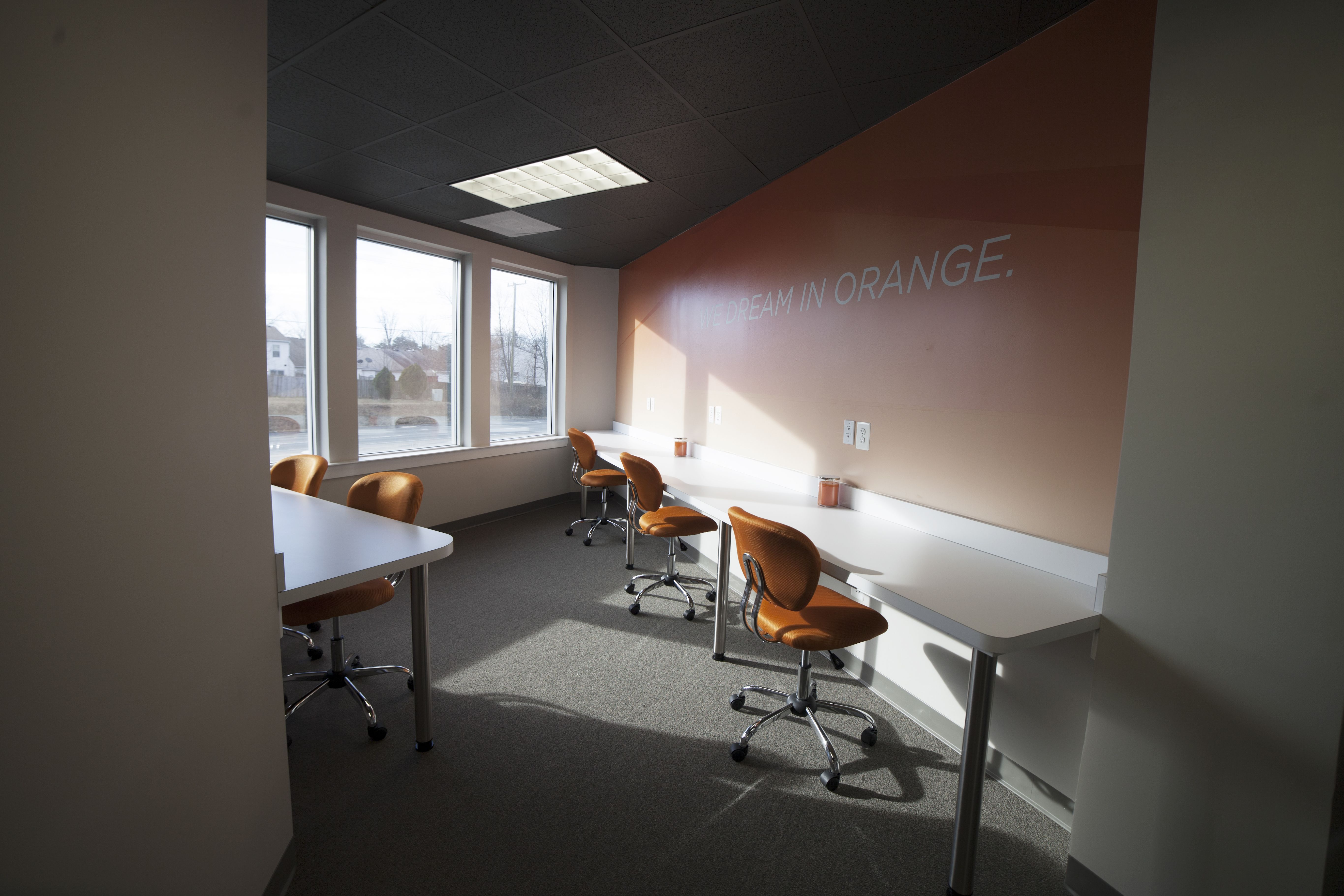 Macdoc realty office decorated by five forty creative commercial