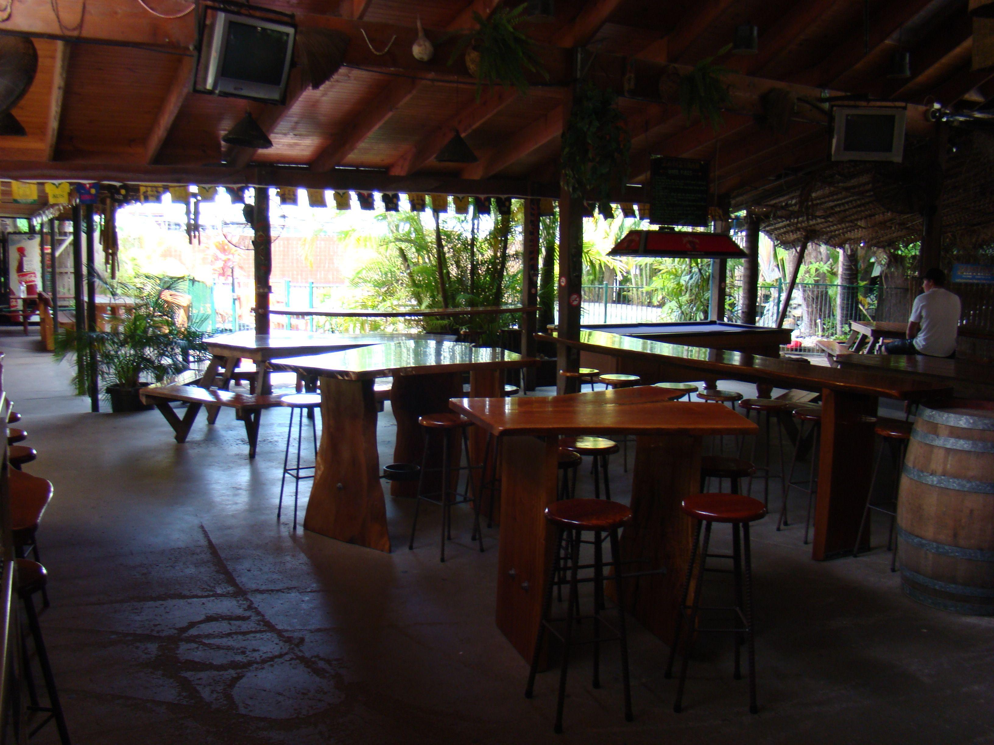 Cairns // Australien - Calypso Inn // Aufenthaltsbereich