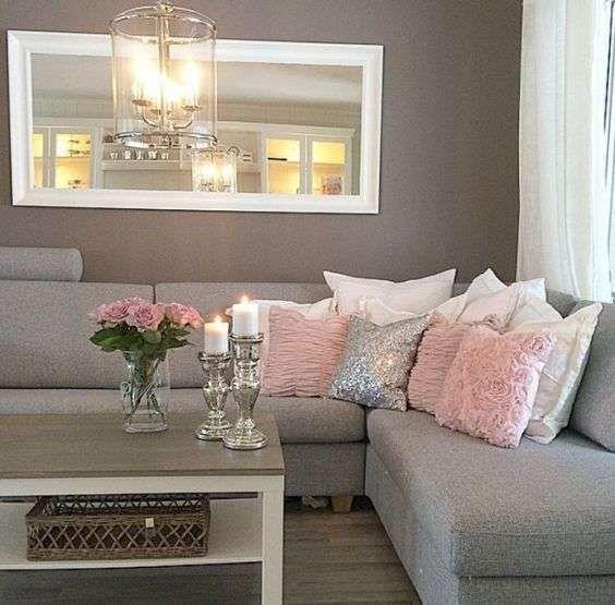 Come arredare il soggiorno con il grigio home sweet for Combinazioni colori arredamento