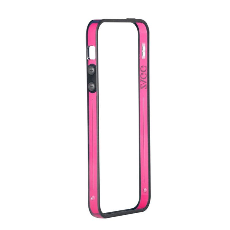 brand new 92873 b07dd ZAGG ZCEDGEPNK Sides Protection Cover For iPhone 5S/5 – Pink ...