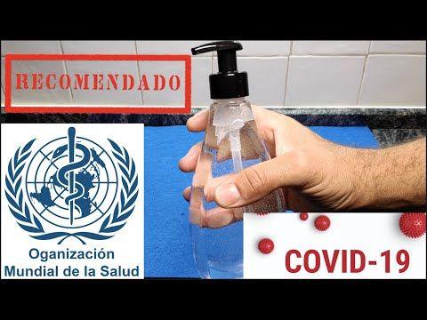 El Desinfectante De La Organización Mundial De La Salud Youtube En 2020 Desinfectante Organizacion Mundial De La Salud Salud