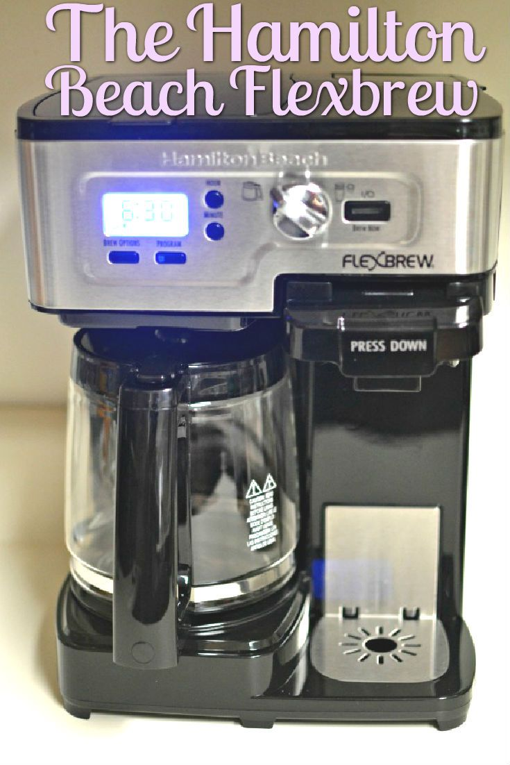 In The Mood For One Or 10 The Hamilton Beach Flexbrew Drip Coffee Maker Cold Brew Coffee Machine Dual Coffee Maker