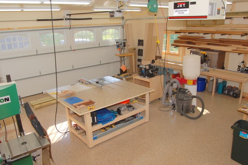 Dsc 0145 jpg wood pinterest woodworking shop for 12x18 garage plans